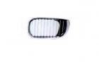 REJILLA DERECHA CAPOT CROMADA Y NEGRA BMW E46 4P 2001-