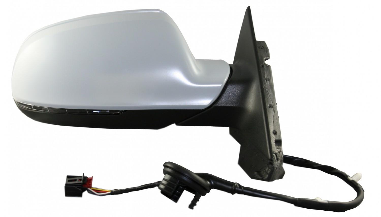 Espejo retrovisor electrico termico derecho imprimado audi for Espejo retrovisor derecho