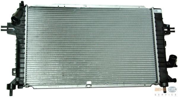 radiador refrigeracion de motor ava cdti opel astra